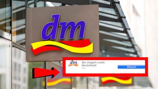 dm-Kunden haben bei Facebook etwas beobachtet, dass sie stutzig macht.