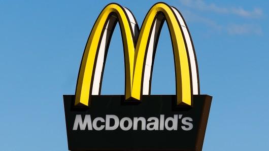 Eine McDonald's-Kundin ist die Kinnlade nach unten gefallen, als sie ihre Bestellung gesehen hat. (Symbolfoto)