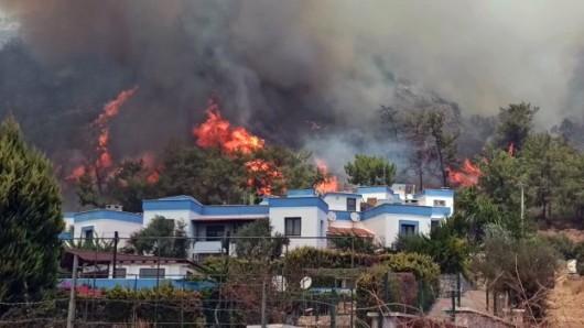 Ein deutsches Ehepaar soll sein Leben bei den Waldbränden in der Türkei verloren haben.