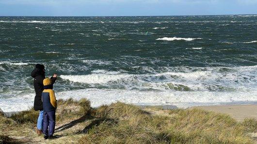 Eine Strand-Aufnahme sorgt für Furore. (Symbolbild)