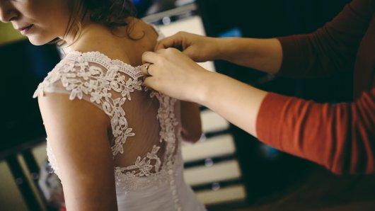 Eine Braut aus England liegt mit ihrer Schwester im Clinch. (Symbolfoto)