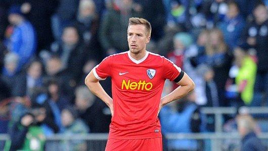 Schwach gespielt und bedient: Bochums Marco Stiepermann.