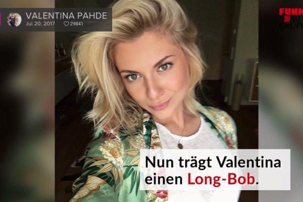 Neuer Look Gzsz Star Valentina Pahde Trägt Nun Bob Video