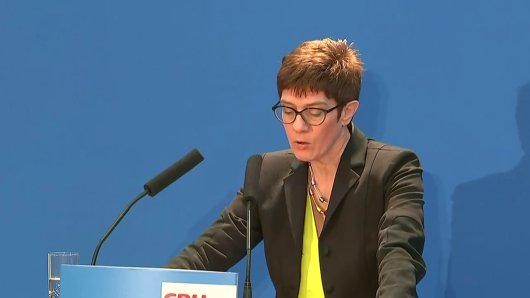 Kramp-Karrenbauer: Diese CDU ist eine großartige Partei