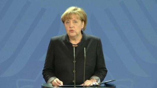 Merkel: Müssen von terroristischem Anschlag ausgehen