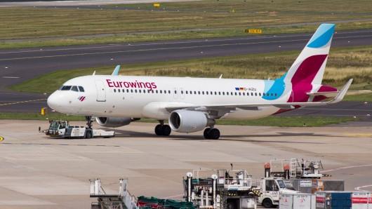 Verärgerte Urlauber: Die Boeing musste auf dem Weg nach Palma de Mallorca umkehren.