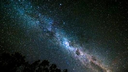 Unsere Milchstraße, aufgenommen in Neuseeland. (Archivfoto)