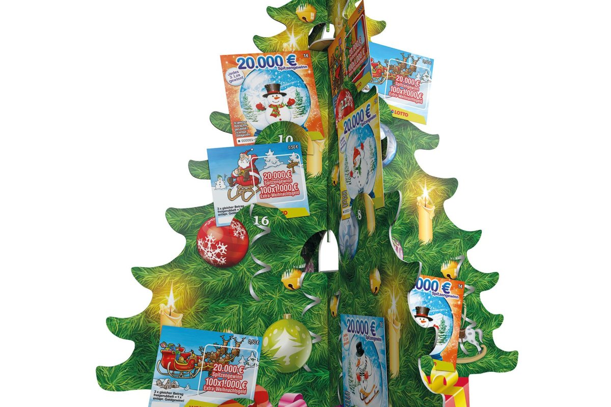Weihnachtskalender Rubbellose.Der Rubbellos Adventskalender Ist Wieder Da Westlotto Derwesten De