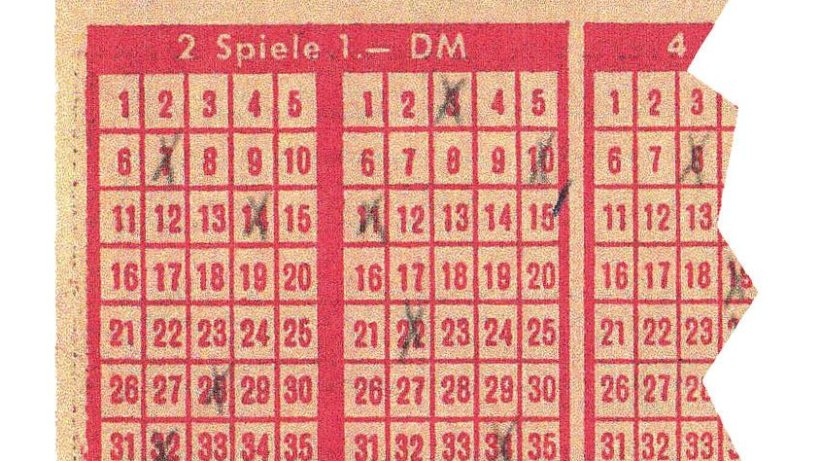 Alte Lottozahlen