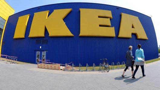 Ikea ruft einen Wickeltisch zurück.