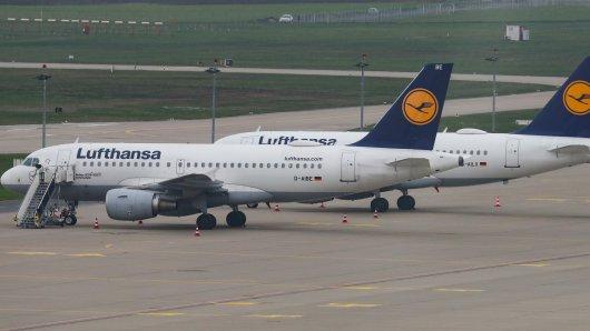 Lufthansa-Maschinen auf dem Flughafen Hannover. Der Streik betrifft diesmal die Tochter Germanwings.