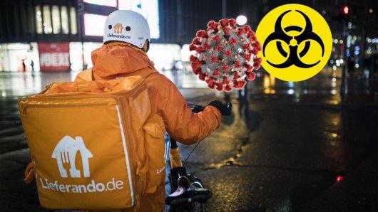 Lieferando hat auf die Ausbreitung des Coronavirus reagiert.