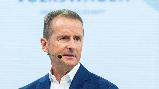 Herbert Diess gibt die Führung der Kernmarke bei Volkswagen ab.
