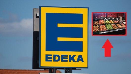 Als eine Edeka-Kundin das Obst genau inspiziert, redet sie sich in Rage. (Symbolbild)
