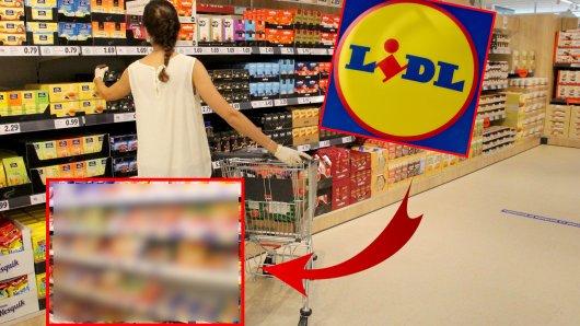 Lidl geht einen drastischen Schritt und schmeißt diese Produkte aus dem Sortiment. (Symbolbild)