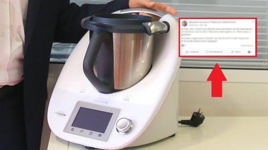 Ein Thermomix-Kunde will die Mehrwertsteuersenkung, doch daraus wird nix. (Symbolbild)
