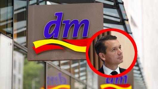 dm-Chef Christoph Werner sieht schwarz für die Zukunft der Branche.