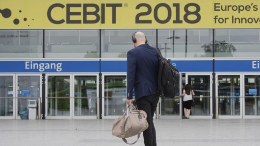 Die Computermesser Cebit soll 2018 vorerst das letzte Mal stattgefunden haben.