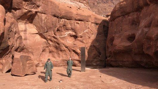 Ein mysteriöses Objekt wurde in der Wüste von Utah entdeckt.