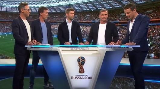 Die ARD eröffnete die WM 2018 im deutschen Fernsehen.