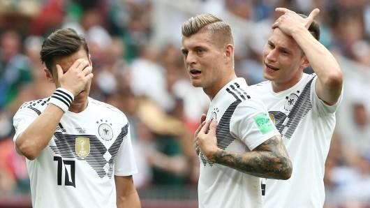 Deutschland startete gegen Mexiko schwach in die WM 2018.