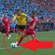 Auf der Linie oder außerhalb des Strafraums? Fans zweifeln an der Elfmeter-Entscheidung des Schiedsrichters.