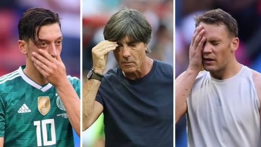 Deutschland verlor gegen Südkorea und verabschiedete sich von der WM.