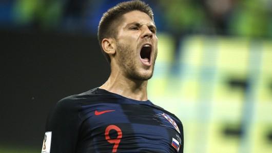 Kroatien gegen Russland entwickelte sich zu einem Krimi, bei dem Andre Kramaric einer der Hauptakteure wurde.