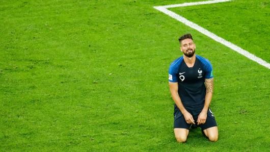 Stürmer Olivier Giroud blieb trotz 546 Spielminuten ohne Schuss aufs Tor.