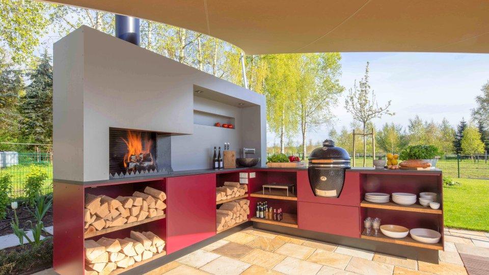 Outdoorküche Möbel Bewertung : Outdoorküche u draußen grillen und kochen mit komfort wohnen