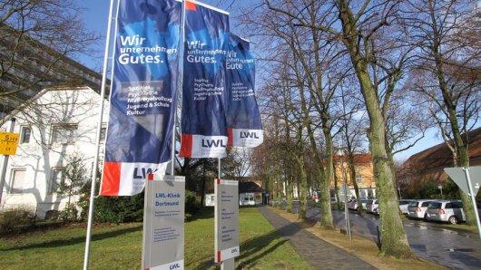 Das LWL-Klinik-Gelände in Aplerbeck.