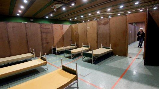Eine Folge der geringeren Flüchtlingszahlen. Die Brügmann-Halle kann demnächst wieder als Sporthalle genutzt werden.
