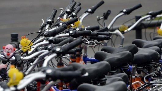Fahrräder sollen Flüchtlingen zu mehr Mobilität verhelfen.