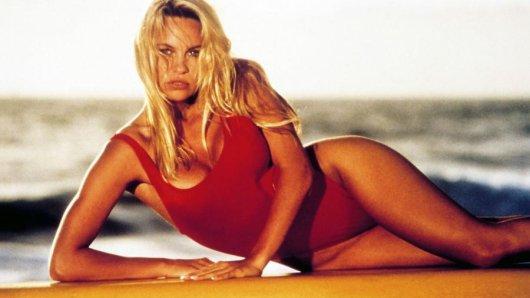 Pamela Anderson spielte in der Kult-Serie Baywatch die C.J. Parker.