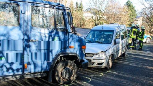 Ein Unfall ereignete sich auf der Straße Zur Pannhütt.